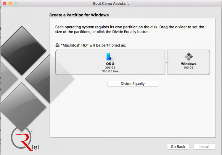 آموزش تصویری نصب ویندوز روی مک به وسیله بوت کمپ (Boot Camp) | گارانتی آرتل